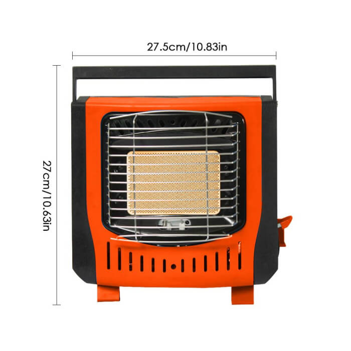 Lightweight Gas Heater