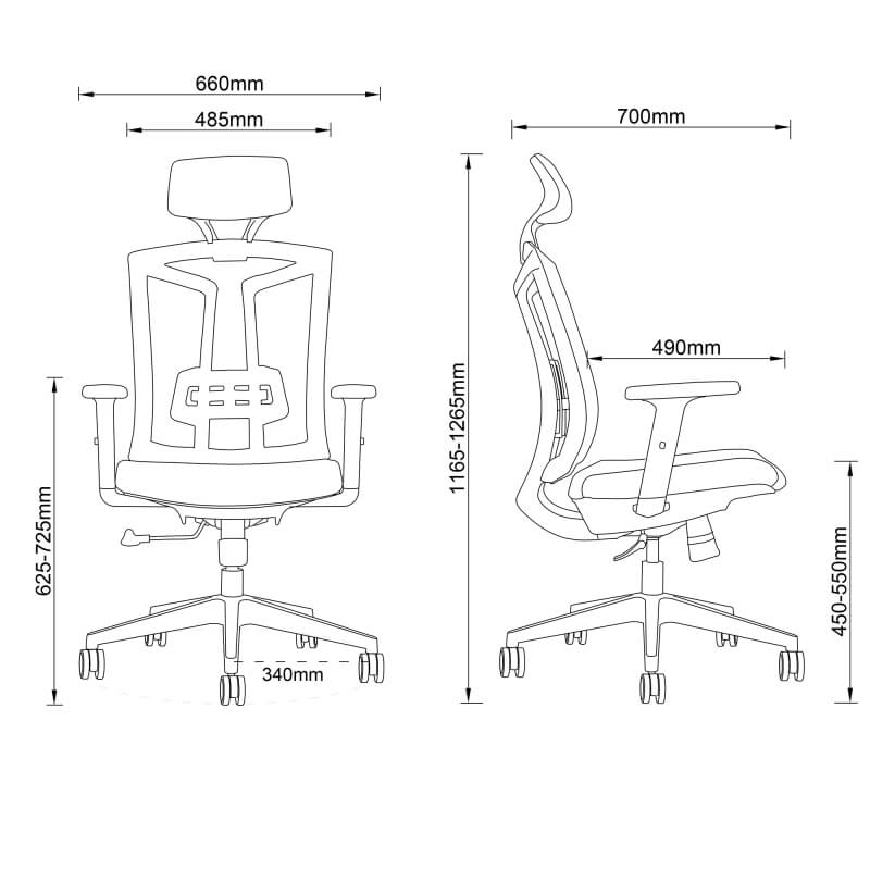 Lifting Swivel Chair
