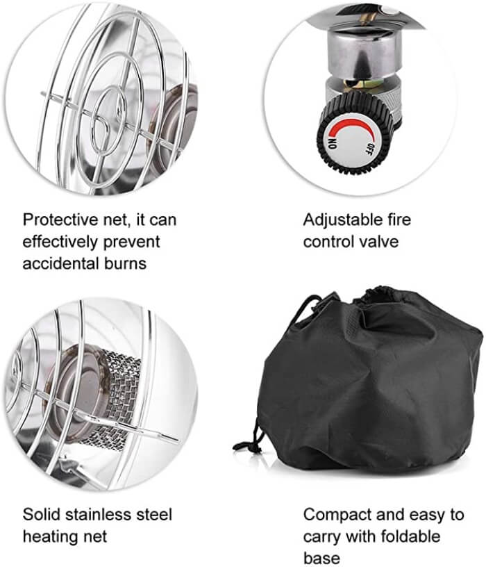 Tent Gas Heater