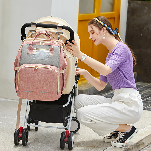 Convertible-Diaper-Bag-Baby-Crib