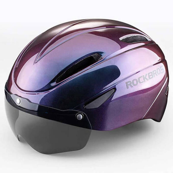 Bike Helmet with Magnetic Visor