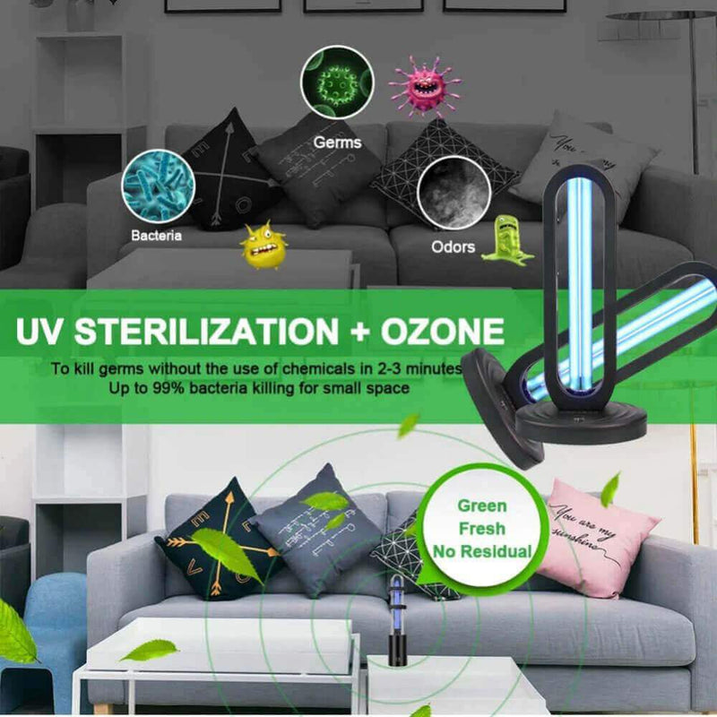 UV Light Disinfection