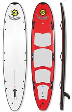 "10'0"" Rescue Hybrid Soft Board"