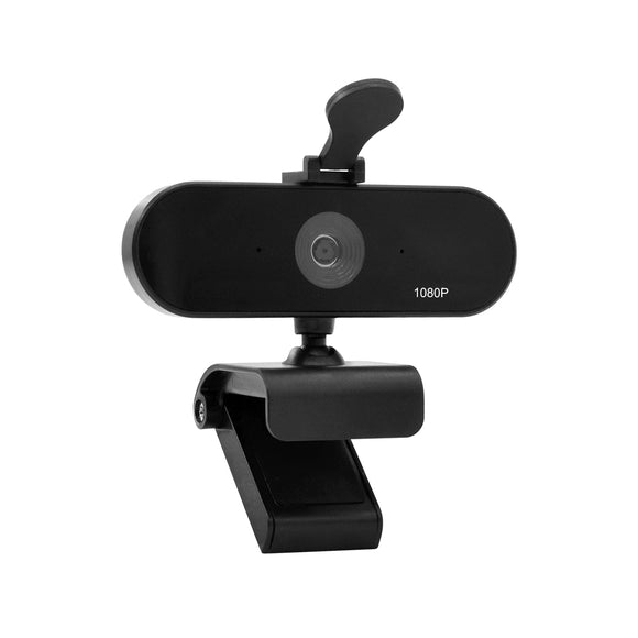 (A955)Jidetech 2K HD USB webcam Built-in Microphone  with privacy cover