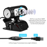 720P USB Webcam With Microphone HD Web Camera Laptop (A7260)