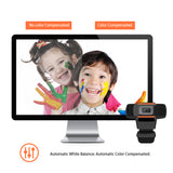 480P Web Camera For PC Laptop Desktop HD USB Webcam With Microphone (A870)