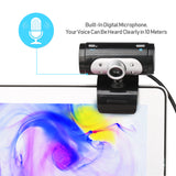 1080P USB Webcam With Microphone HD Web Camera Laptop Notebook(A7260)