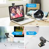 1080P HD USB Webcam with Microphone Web Cam(A955)