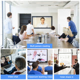 (A855)2020 HOT Cheap 1080P Built in Mic Ultra HD Mini PC USB Webcam for Video Conferencing, Recording, and Streaming