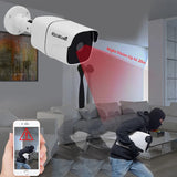 JideTech 4CH 1080P POE Bullet Camera NVR Security System Kit (BC03-2MP 4pcs Kit)