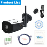 JideTech 5MP Wifi Bullet Camera With SD Card Slot (BC05-5MPW)