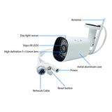 JideTech 3MP Wireless Bullet CCTV Surveillance Wifi IP Camera (BC10-3MPW)