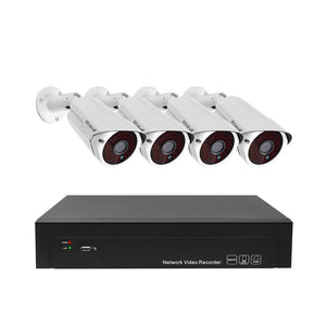 JideTech H.265 4CH 5MP CCTV Surveillance Camera System (JD4NK101P-5MP)