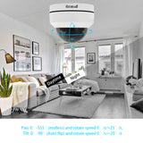 JideTech 5MP 4X PTZ 16CH POE H.265 Dome Security Camera System Kit (P1-4X-5MP 8pc Kit)