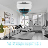 JideTech 5MP 4X Zoom Dome POE IP Security Camera System Kit (P1-4X-5MP 4pcs kit)
