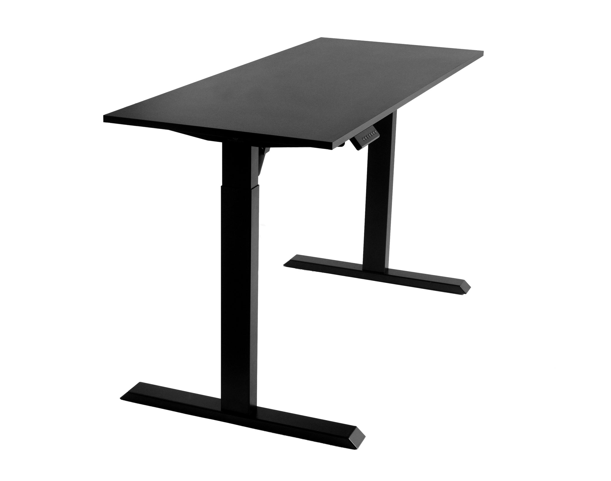 Home Office 47 x 27 inch Universal Table Top for Sit to Stand Desk Frames Black