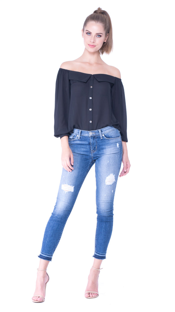 Juliette Off-Shoulder Top