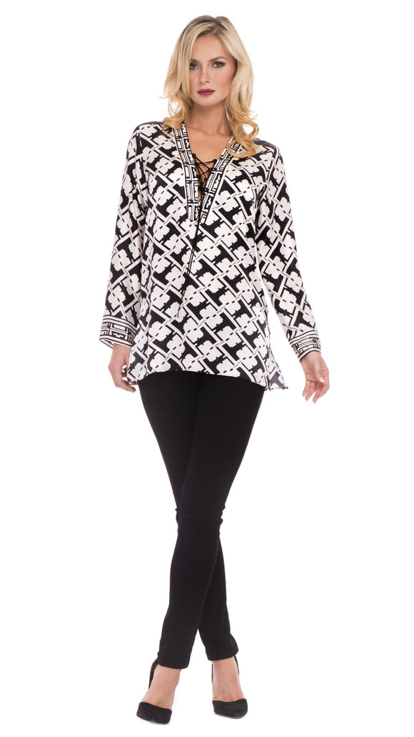 Sadie Silk Tunic