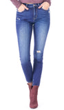 Kali Distressed High Rise Skinny