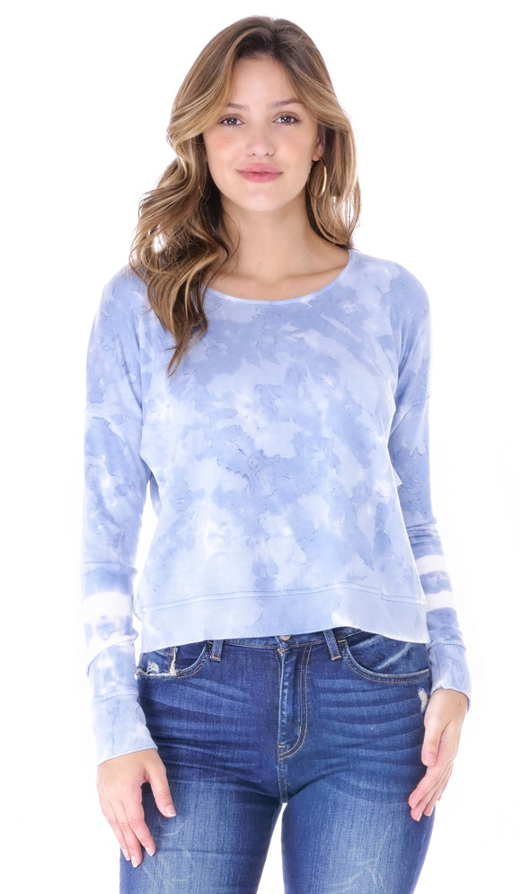 Girl Talk Tie Dye Sweater