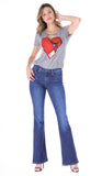 Myra Love Gloves Distressed Tee