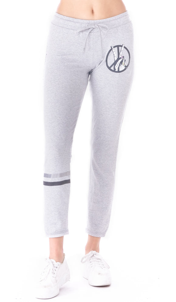Tiki Peace Sign Jogger