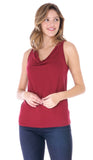 Eve Cowl Neck Tank Top