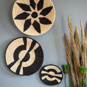 african wall baskets