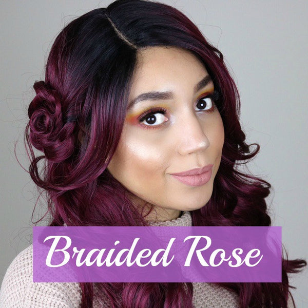The Perfect Valentine's Day Hairstyle for your wig!