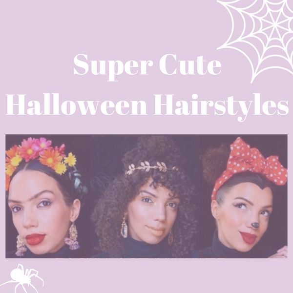 SUPER CUTE HALLOWEEN HAIRSTYLES