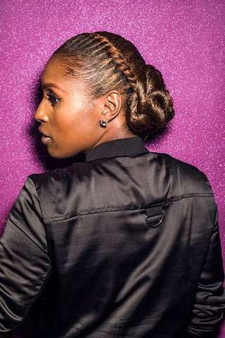 Issa Rae Up Do