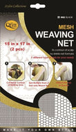 Qfitt Make your Own Style Mesh Weaving Net - 502 Black