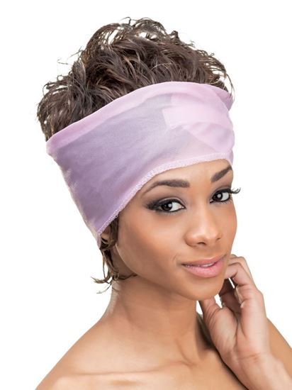 Qfitt Open Top Adjustable Velcro Satin Wrap - 174 Assort(Random Color) - Beauty Empire