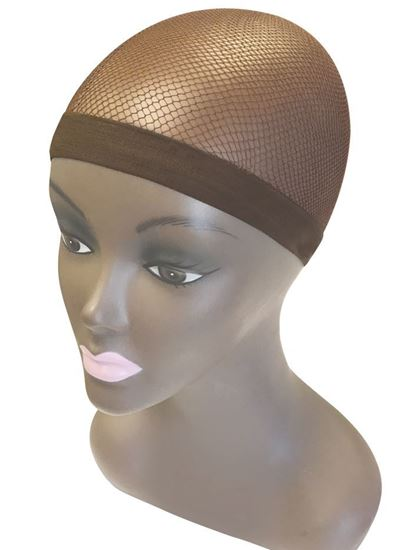Qfitt Make Your Own Wig Sili Band Mesh Wig & Weave Cap - 5055 Brown