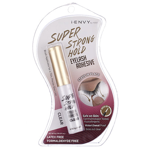 I-Envy Super Strong Hold Eyelash Adhesive - KPEG06 Clear - Beauty Empire