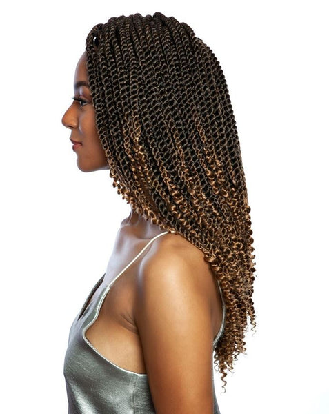 Mane Concept Afri-Naptural 3X Coily Ends Senegal Twist 14 Inches