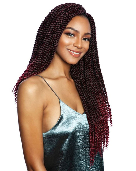 Mane Concept Afri-Naptural 3X Coily Ends Senegal Twist 18 Inches - Beauty Empire