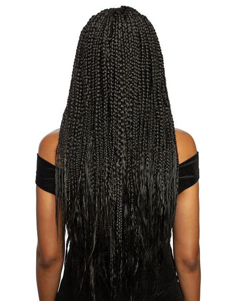 Mane Concept Pre-Stretched Afri-Naptural 3X-I Define Easy Knotless 52 Inches