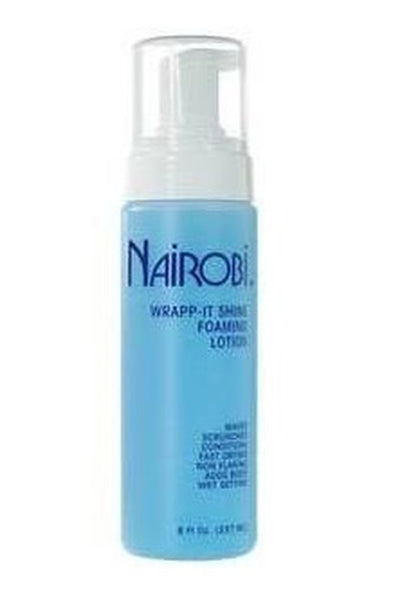 Nairobi Wrapp-It Shine Foaming Lotion - 8oz