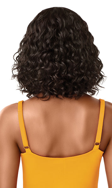 Outre The Daily Wig 100% Unprocessed Human Hair Lace Part Wig - Curly Bob 12 Inches