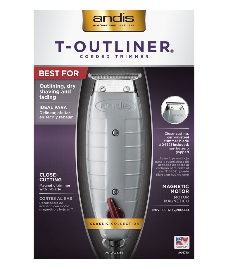 Andis Professional T-Outliner T-Blade Trimmer - Beauty Empire