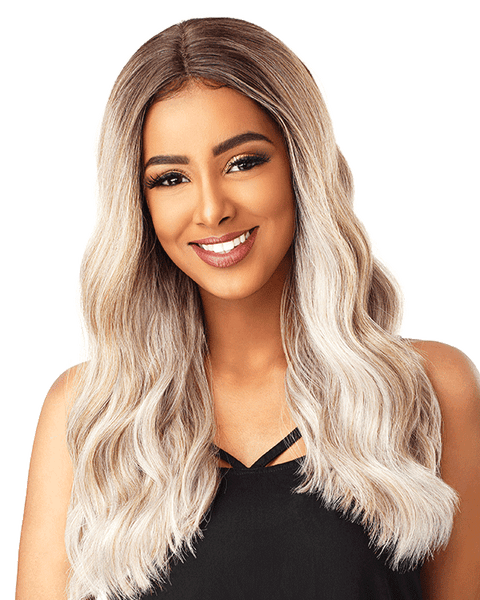 Sensationnel Empress Natural Center Part Lace Front Edge Wig - Brianna - Beauty Empire