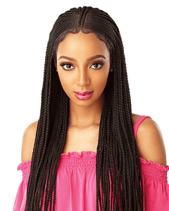 Sensationnel Cloud 9 13X5 100% Hand-Braided Swiss Lace Wig - Fulani Cornrow