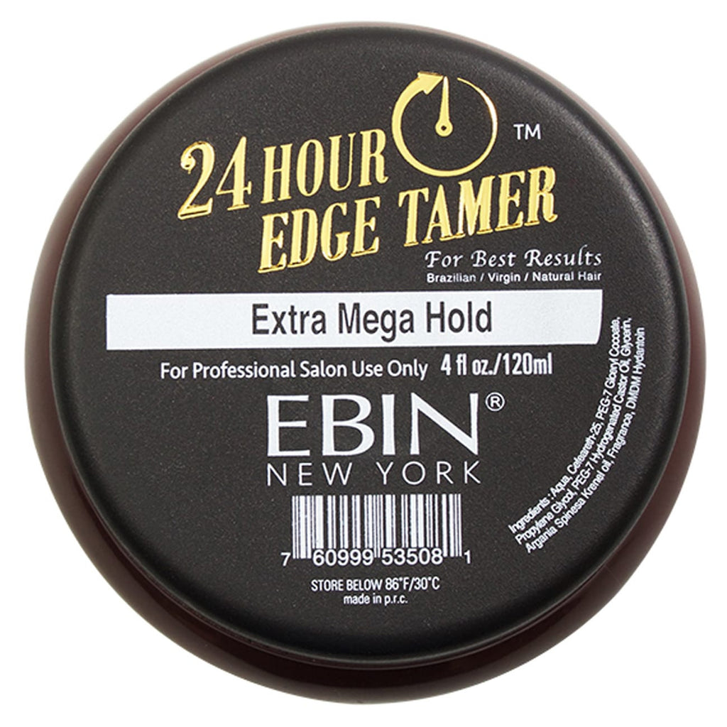 EBIN New York Argan Oil Edge Tamer Extra Mega Hold (Edge Control) 4 Ounce