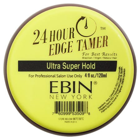 EBIN New York Argan Oil Edge Tamer Super Hold (Edge Control) 4 Ounce