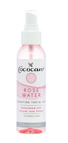 Cococare Rose Water Hydrating Facial Mist - 4oz