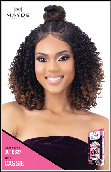 Mayde Beauty Pre-Braided Synthetic Lace Frontal Wig - Cassie