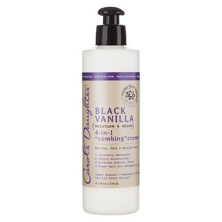 Carols Daughter Black Vanilla 4-In-1 Combing Creme (8 oz) - Beauty Empire