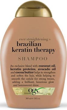 OGX Ever Straightening+ Brazilian Keratin Therapy Shampoo (13oz) - Beauty Empire