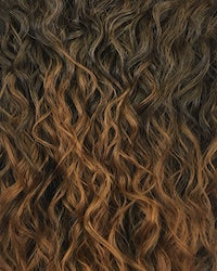 Outre Quick Weave Wet & Wavy Style Synthetic Half Wig - Beach Curl 24 Inches - Beauty Empire
